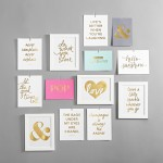 8. Typographic Wall Prints