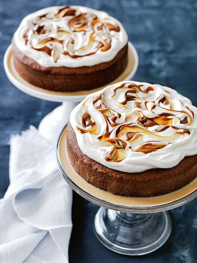 Donna Hay's Caramel Three-Milk Cake